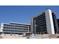 Konya protokolü Meram Tıp Fakültesi Hastanesi inşaatında incelemelerde bulundu
