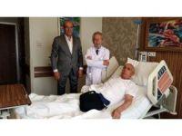 Yapay kalpli hastaya dünyada ilk kez mide ameliyatı yapıldı
