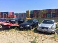Gümrük süreleri dolan 2 milyon değerinde 68 adet araç yakalandı