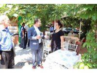 Başkan Gürkan'dan kaldırım üzerine masa ve sandalye koyan işletmecilere uyarı