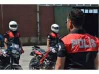 Zonguldak İl Emniyet Müdürlüğü motosiklet yunus timinde görev yapacak gönüllü 24 polisin eğitimleri devam ediyor.