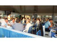 Tariş' in efsane Başkanı Çetin Burhaniyelilere veda etti
