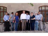 Kültür Varlıkları Koruma Kurulu Üyeleri tarihi Tablakaya'yı gezdi