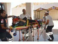 TIR otomobili biçti: 1 ölü, 4 yaralı