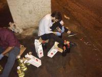 Bayrampaşa'da otogarda '10 Numara yağ' operasyonu