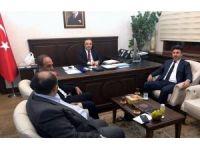 Rektör Karacoşkun Müsteşar Yardımcısı İsmail Çataklı'yı ziyaret etti