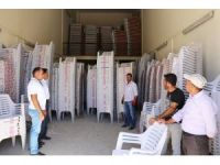 Gürpınar Belediyesinden taziye evlerine destek