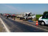 Gönen'de trafik kazası: 2 ölü