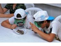 Çocuklar yaz tatilini bilim ve sanatla geçirdi