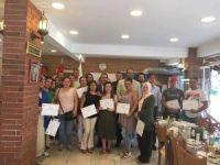 Girişimci adayları sertifikalarını aldı