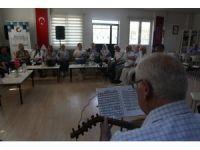 Büyükşehir Belediyesinden yaşlılara meşguliyet terapisi