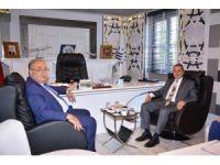 Vali Kalkancı'dan Başkan Kutlu'ya ziyaret