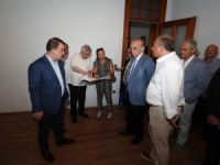 Aziz Yıldırım Fenerbahçe Üniversitesi'nin Silivri'de kurulacak kampüsünü gezdi