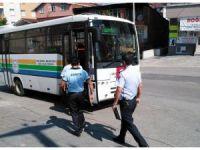 Kdz. Ereğli'de taksiler ve halk otobüsleri denetlendi
