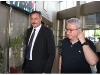 TÜBİTAK Başkanı'ndan iki elini kaybeden Altuğ'a ziyaret