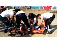 Bafra'da denizde 2 kişi boğuldu