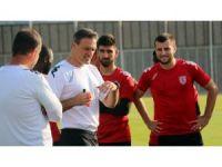 Samsunspor, açılış maçına hazırlandı