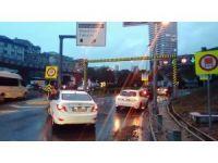 Şiddetli yağışın ardından Dolmabahçe tüneli bir süre kapandı