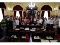 Edirne Belediyesi'nden ilk yardımcılara sertifika