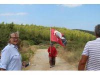 Kuşadası'nda köylülerden taş ocağı eylemi