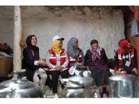 Damla Projesi Gönüllüleri Ardahan'da