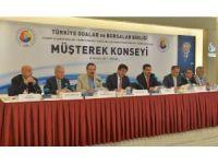 AYTO, Ankara'da gerçekleşen TOBB Müşterek Konsey toplantısına katıldı
