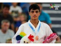 Vanlı judocu Avrupa üçüncüsü oldu