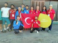 Gazi Üniversitesi karate takımı Avrupa ikincisi oldu