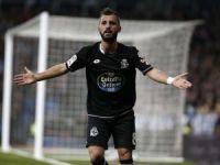 Deportivo'da Emre Çolak iki gol birden attı