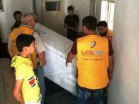 İyilikder Kayseri'de beyaz eşya dağıttı
