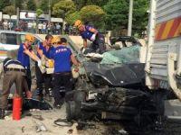 Bilecik'te katliam gibi kaza: 3 ölü, 2 yaralı