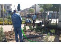 Kilis'te park ve bahçelerde revizyon çalışmaları