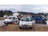 Düzce'de D-100 karayolunda kaza: 5 yaralı