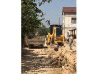 Bayırköy'de alt yapı çalışmaları devam ediyor