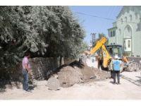 Van'da kanalizasyon hattı yenileme çalışması