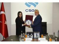 TESK Genel Başkanı Palandöken'den Bakan Sarıeroğlu'na hayırlı olsun ziyareti