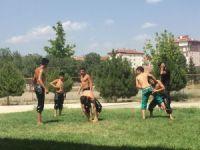 Sungurlulu güreşçiler Elmalı güreşlerine hazırlanıyor