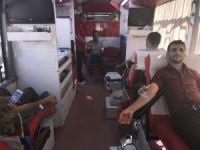 Muş'ta kan bağışına yoğun ilgi