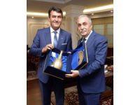Dündar'dan Çavuşoğlu ve Fakıbaba'ya ziyaret