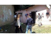 Beyoğlu Belediyesi'nden evlerini su basan vatandaşlara yardım eli