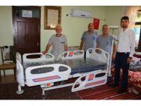 Büyükşehir'den hasta yatağı desteği