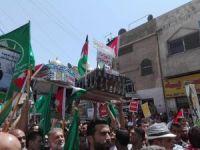 Binlerce Ürdünlü Amman'da Mescid-i Aksa'ya destek gösterisi yaptı