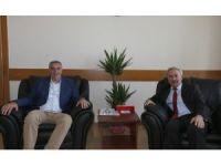 Başkan Toçoğlu, TÜVASAŞ Genel Müdürü Kocaarslan'ı ziyaret etti
