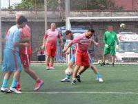 Milli takımın efsaneleri hükümlü ve tutuklularla maç yaptı