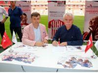 Samsunspor ile YEPAŞ arasında sponsorluk anlaşması
