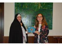 El Zahra Üniversitesi Rektöründen Düzce Üniversitesi'ne ziyaret