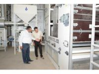 Bölgenin en büyük ve en kaliteli eleme tesisi Aksaray'a kuruldu