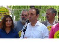 HDP'nin eyleminde Demirtaş ve Yüksekdağ'ın mesajı okundu