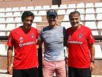 Beşiktaş'ta iki efsane bir araya geldi