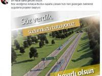Bakan Çavuşoğlu, hızlı tren müjdesini verdi